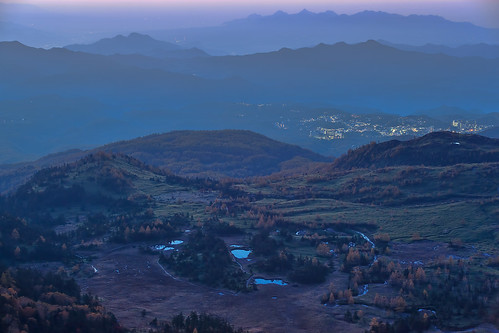 autumn fall sunrise landscape 2012 gunmapref kunimura 渋峠 shibupass nakanojotown