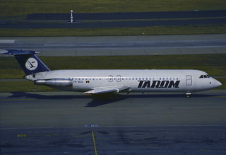 TAROM BAC-111-525FT One-Eleven; YR-BCO, April 1993