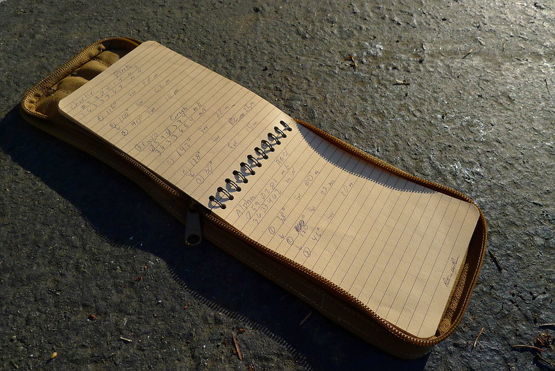 Field Message Pad