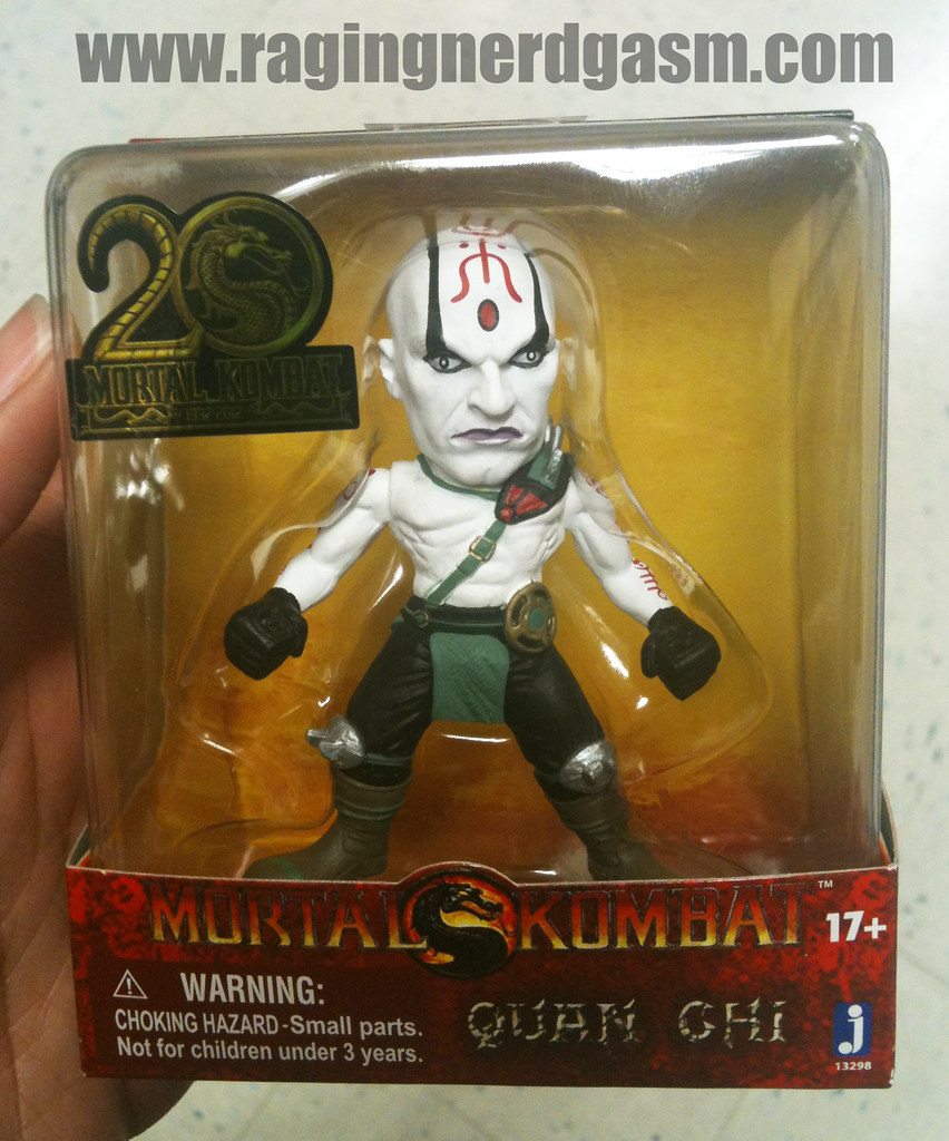 Mortal Kombat Mini Figurines Quan Ghi by Jazwares 008