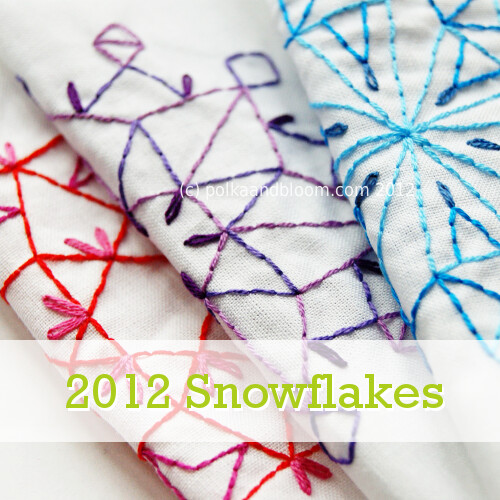 2012 Snowflake collection