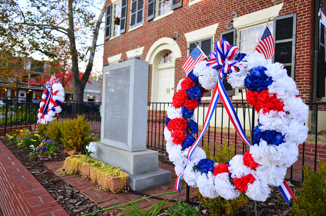 Dahlonega Vets Day Wreath