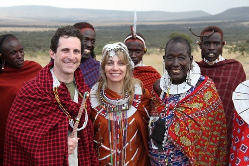 8176351691 77cafa1e95 Guests Renew Vows in a Traditional Maasai Wedding Ceremony
