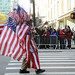 Picture Taken From New York City 2012 Veterans Day Parade Held On Fifth Avenue On Sunday November 11, 2012