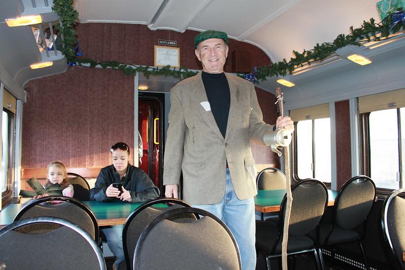 Cape Cod Polar Express hobo.