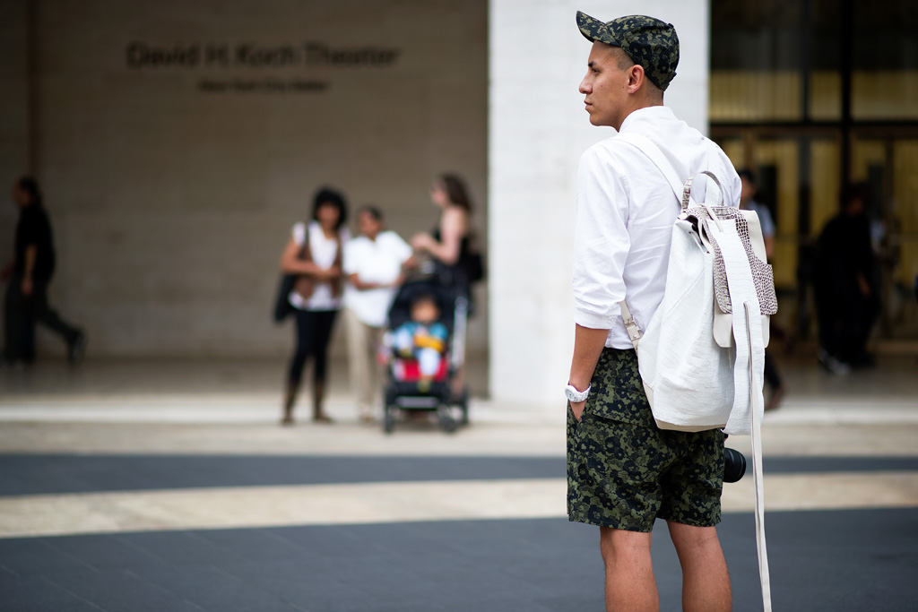 Tuukka13 - Non-Black Backpack Inspiration - streetsnaps-new-york-fashion-week-2013-spring-summer-part-1-6