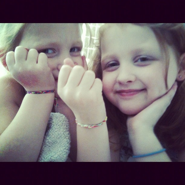 Oh @tenle  the card was wonderful and the girls love their bracelets from KK!!!
