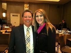 Cynthia Kimball and Dr Frieder