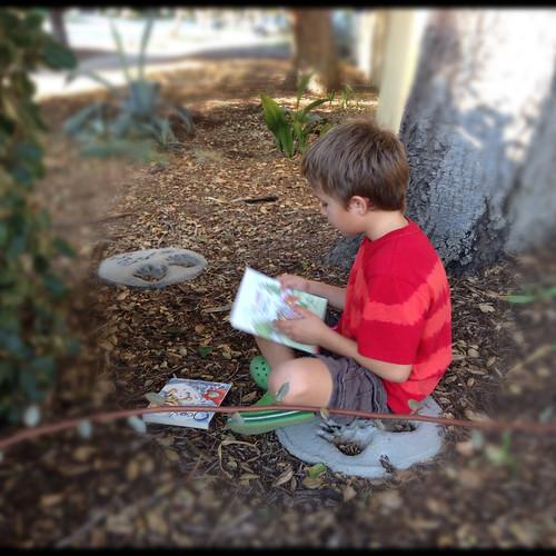 Ezra reads