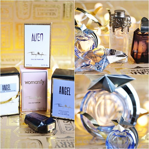 thierry mugler mini perfume set