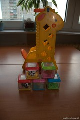 czw., 10/11/2012 - 11:07 - Żyrafa pełna klocków
