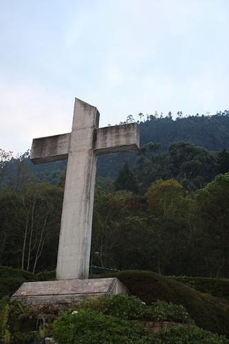 Cerro Monserrate cross
