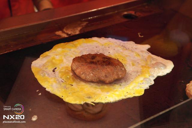 loong kee pork burger