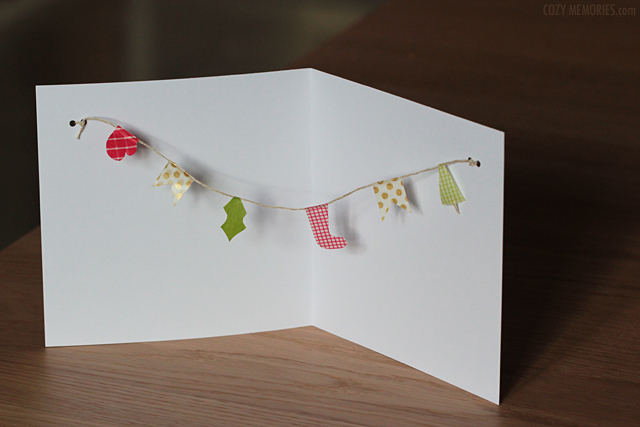 holiday cards made with MT