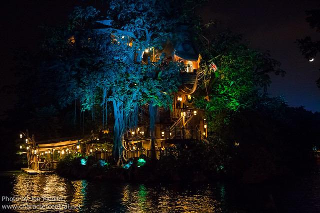 HKDL Oct 2012 - Tarzan's Treehouse