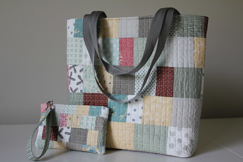 Tote Bag and Wristlet 1