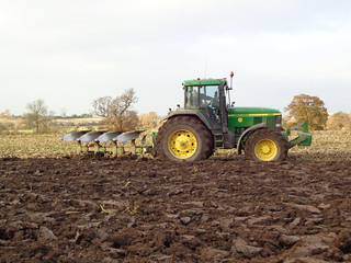 Ploughing at Southfields Farm,Coleshill