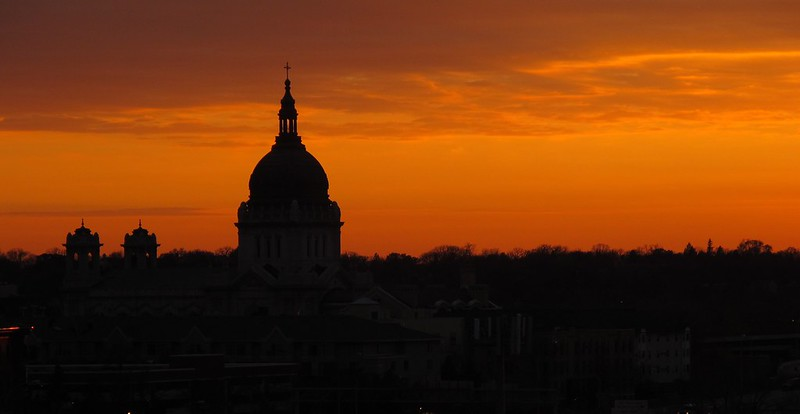 Sunset At The Basilica