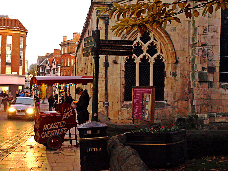 Chestnut seller, York