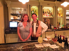 A Bartending Demo at 1901, An Exclusive Disneyland Lounge
