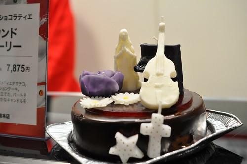 西武池袋本店 クリスマスケーキ コンパーテス ショコラィエ  サウンドストーリー