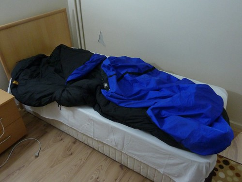 Geek post: sleeping bag and bivvy sack by mattkrause1969