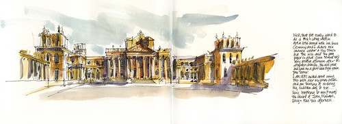 121117 Blenheim Revisited (Saturday night armchair sketching) by borromini bear