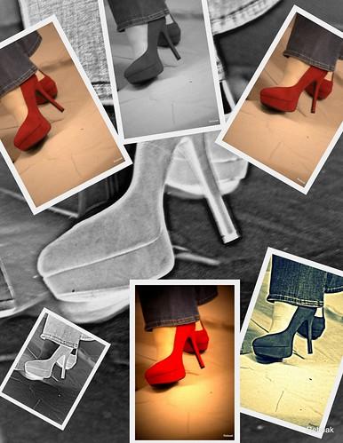 studio nikon heels redcollage picasa3 rebeak