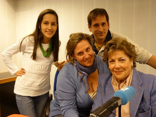 """En el programa """"Dos días contigo"""" de la COPE con Cristina López Schlichting, Paloma Gómez Borrero y Laura Rodríguez"""