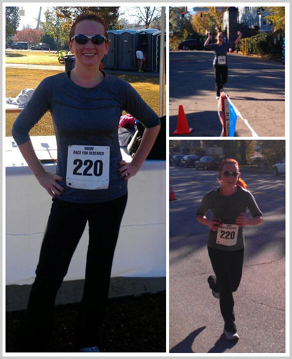 Alexis {Diva on a Diet} at the MMRF Race For Research 5K Atlanta 2012