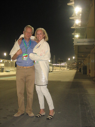 Penny Baker-Fischer & Hamish Brown, Abu Dhabi, United Arab Emirates