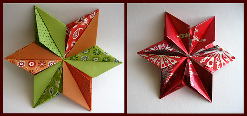 Kalami Star | Design by Tine Pape Folded by Aileen Desipeda … | Flickr | 235x499