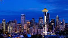 Seattle at Night - USA