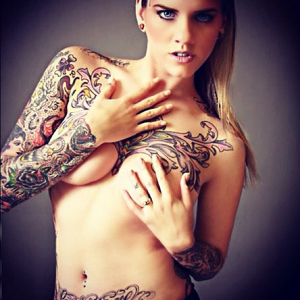 Nake Tattoo Women 73