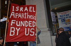 Gaza Protest at Israeli Consulate in San Francisco 11-19-2012