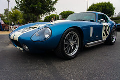 race car(1.0), automobile(1.0), vehicle(1.0), shelby daytona(1.0), land vehicle(1.0), sports car(1.0),