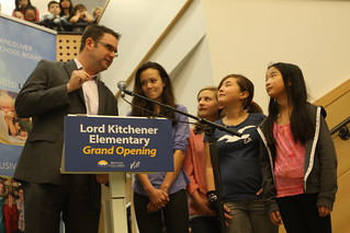 Lord Kitchener Elementary officially re-opened