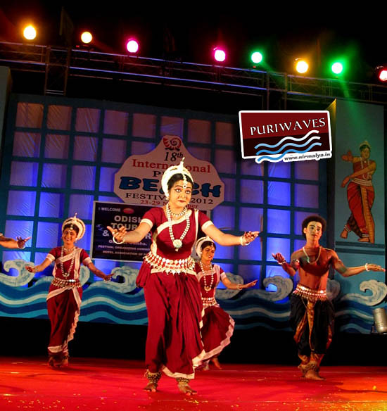 18th  INTERNATIONAL PURI  BEACH  FESTIVAL has started