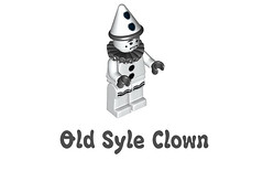 LEGO Minifigures Series 10 -  Old Syle Clown