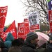 Save Lewisham A&E: placards