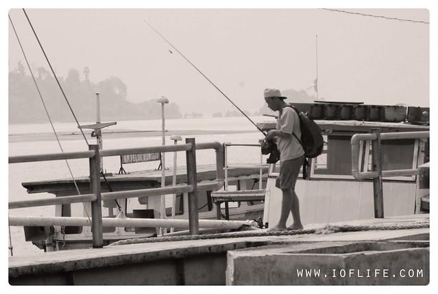 pemancing di Bungus Padang