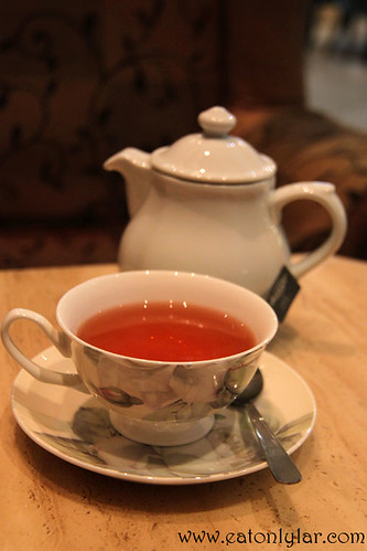 Earl Grey Tea, San Terri Cottage Café and Bistro