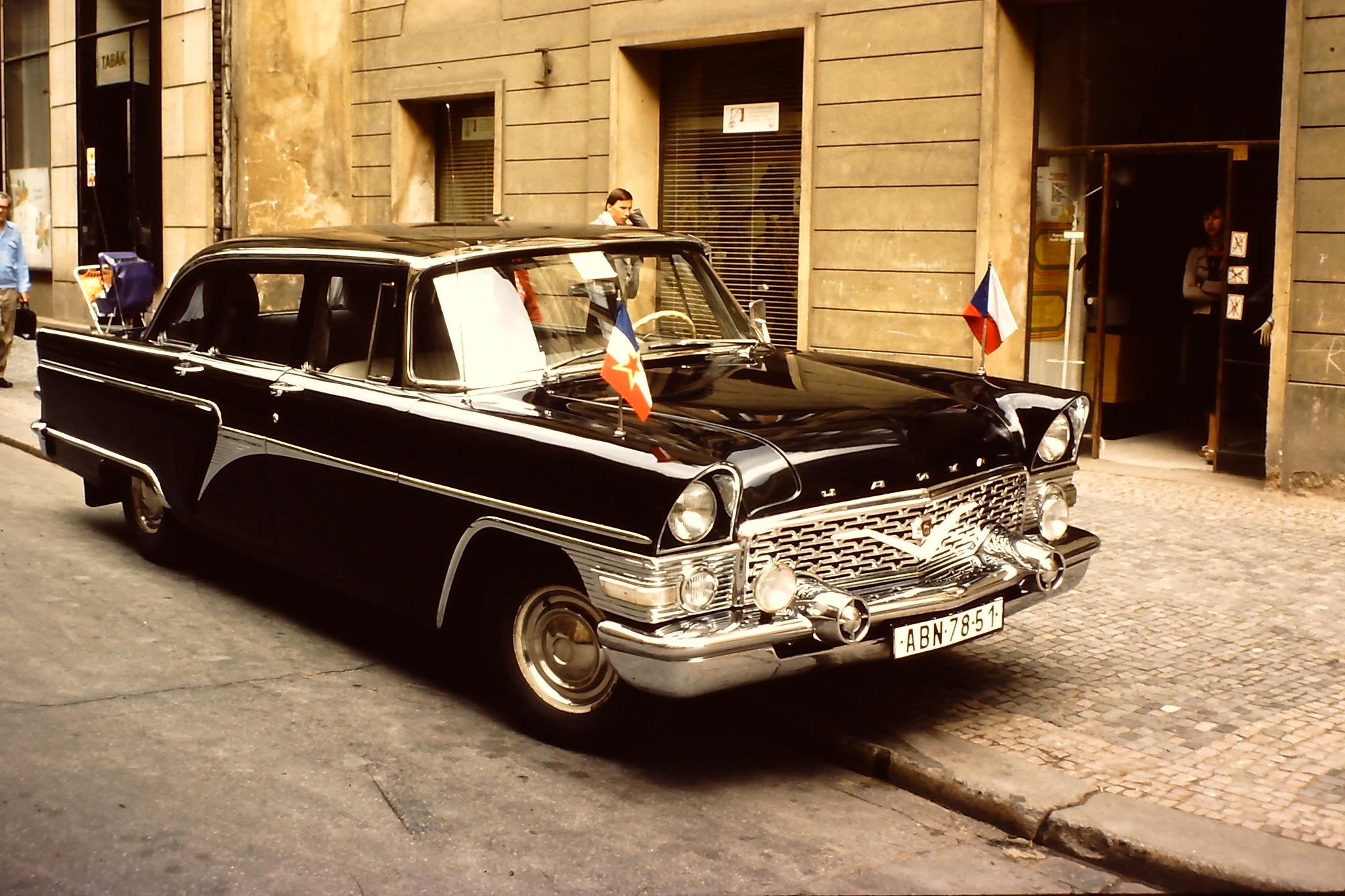 CHAIKA GAZ 13 in Praha 1980