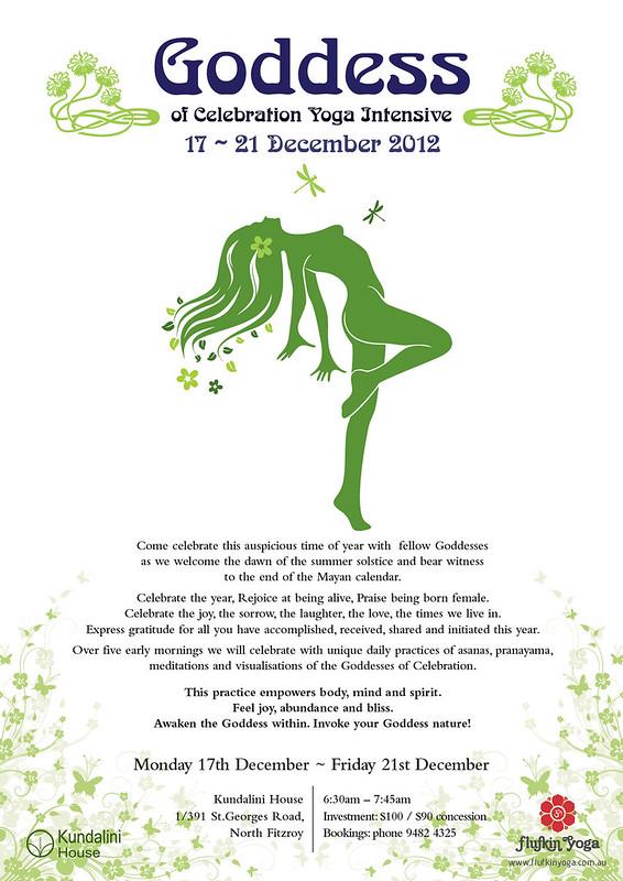 Goddess of Celebration Yoga Intensive