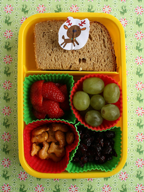 Preschooler Reindeer Bento #367