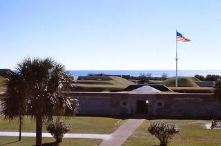 South Carolina   -   Fort Moultrie   -   14 November 1977