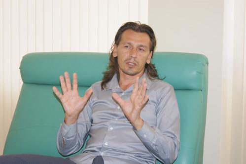 Специалист по брендингу Сергей Ковтунов, консультирующий администрацию Таганрога.