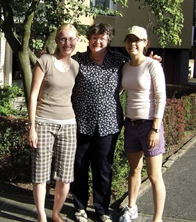 From left: Rita Forbes, Brigitte Janus, Valerie German