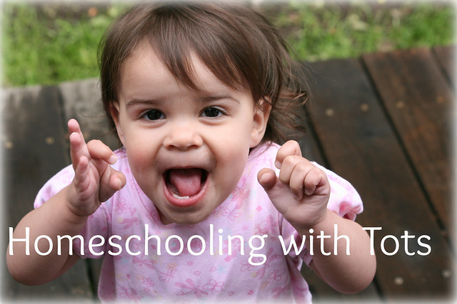 homeschooling with tots