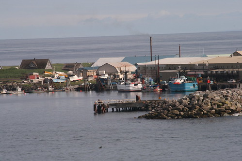 Saint Paul Harbor in the Pribilof Islands. The Native community will soon receive improved broadband service thanks to USDA funding support. Photo courtesy of Scott Schuette and used with permission of TDX.